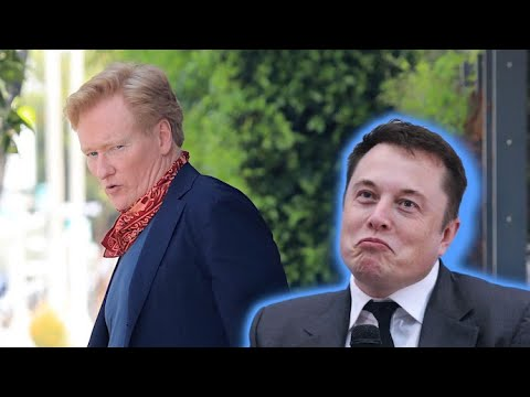 """Conan O'Brien Explains Why Elon Musk Is A """"Dream Guest"""" For Saturday Night Live"""