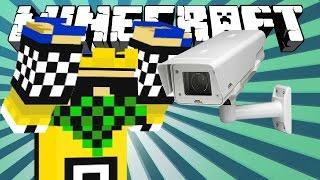 ✔ Minecraft - PS4 l How to make a CCTV camera (security cam.)
