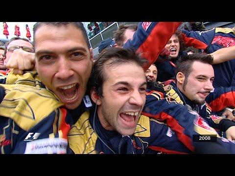 sebastian vettel: prima vittoria in f1 - monza 2008