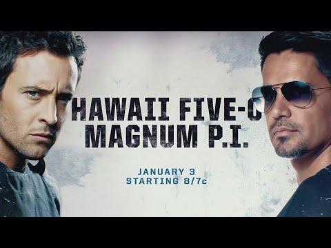 Hawaii Five-0 & Magnum P.I. Crossover Teaser Promo (HD)