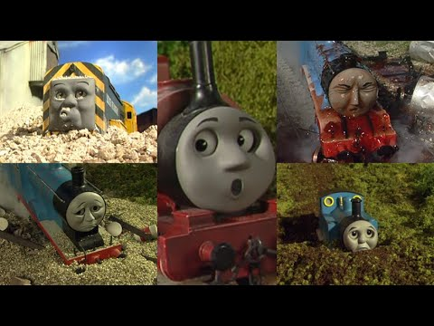 Thomas and Friends Crashes & Accidents (Series 9 - 11 w/ Specials)