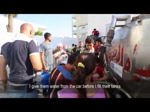 Delivering safe water in Gaza