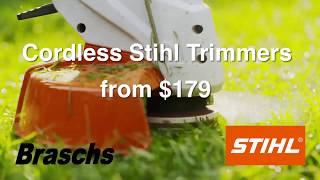 3. Braschs Stihl Cordless FSA 45 trimmer