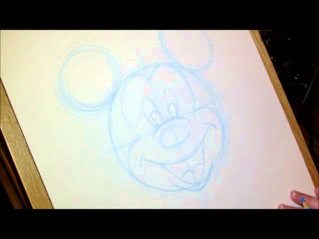 Apprendre dessiner mickey mouse disney magie club - Apprendre a dessiner mickey ...