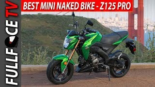 9. WOW 2017 Kawasaki Z125 Pro Specs MPG and Review