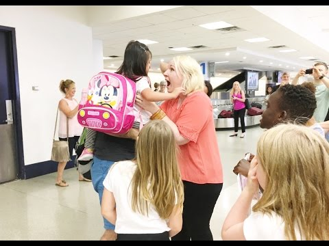 WELCOME HOME ELOISE!!! AIRPORT HOMECOMING | CHINA ADOPTION