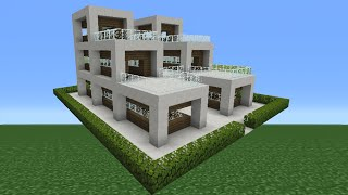 Minecraft Tutorial: How To Make A Quartz House - 14