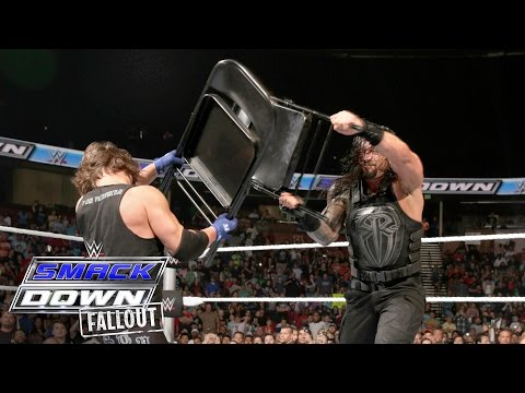 "What You Didn't See On Smackdown - ""the Bloodline"" & The Club Brawl: Smackdown Fallout, May 19, 2016"