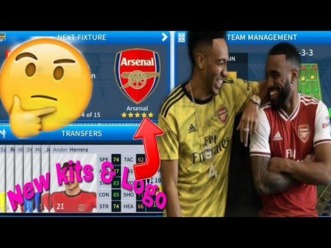 Dream League Soccer 2019 How To Make Arsenal New Kits & Logo 2019/2020