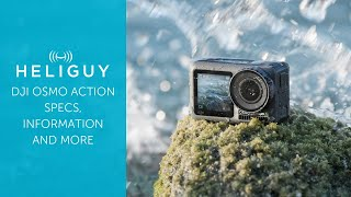 DJI Osmo Action / Specs, Information and where to Pre-Order / Heliguy