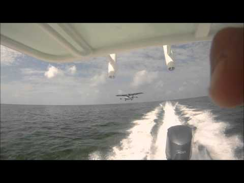Yellowfin Yachts - Sandy's 2011 24 Yellowfin Bay Boat with F300 Yamaha in Great Harbour Cay, Bahamas.