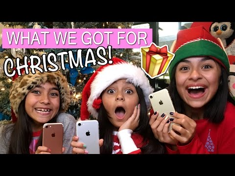 What I Got For Christmas 2016 : REVIEWS & HAULS // GEM Sisters