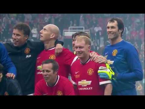 [HIGHLIGHTS] Manchester United Legends 4-2 Bayern Munich Legends (2015 Legends Match)