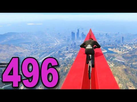 Grand Theft Auto 5 Multiplayer - Part 496 - Weird BMX Races (видео)