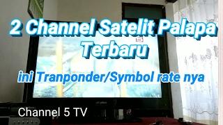 2 Channel TV Satelit Palapa Terbaru, Ini Frekuensinya!
