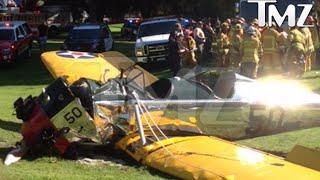 Harrison Ford Okay After Crash Landing Plane
