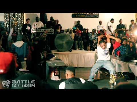 BATTLE FEST 14 TURF FEINZ vs NEXT LEVEL Flexing | YAK FILMS Brooklyn (видео)
