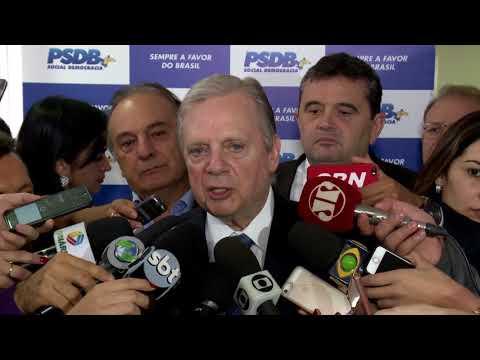Tasso Jereissati: o PSDB não é um partido de pensamento único