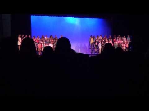 spring 2013 stafford twp internediat school choir concert (life is a hwy)