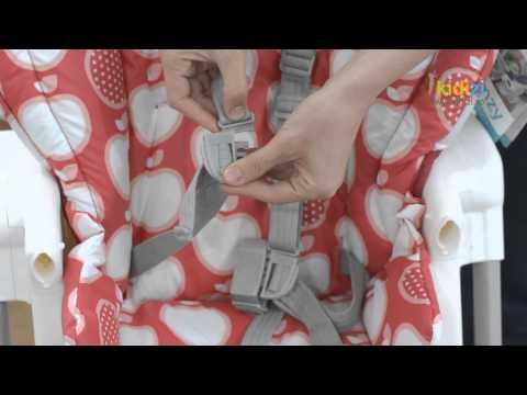 Prezentare video Joie scaun de masa Mimzy