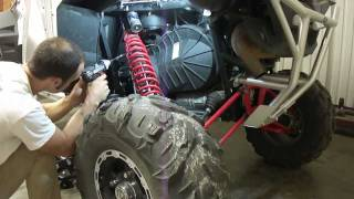 8. Polaris XP 900 clutch disassembly removal