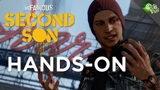 INFAMOUS: Second Son Hands-On PS4 Gameplay Impressions! Adam Sessler's First Hands-On