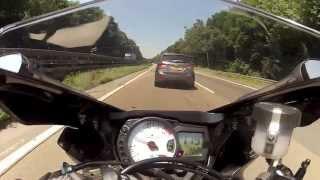 7. Suzuki GSXR 750 vs BMW S1000RR (GoPro Hero 2)