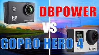 BUDGET Action Camera DBPOWER vs GOPRO HERO4,  in car action comparison.Hope you liked the video! Thanks for watching!Music:Good For You by THBD https://soundcloud.com/thbdsultanCreative Commons — Attribution 3.0 Unported— CC BY 3.0 https://creativecommons.org/licenses/by/3.0/Music provided by Audio Library https://youtu.be/-K_YSjqKgvQDISCLAIMER:I'm not associated with any company or seller. Both cameras can be found on eBay, Amazon, etc._____Video uploaded by me to my channel 'Ryaniwk' - You have no right to copy and re-use this video without mentioning the channel URL and name on the video player._____Youtube link:https://youtu.be/-hx_1iRwgtwKEYWORDS:dbpowerdbpower action cameragoprogopro hero 4budget action cameradbpower vs goprosj4000ebay action cameraamazon action cameracheap action cameradbpower waterproof action cameraaction cameracamera comparison