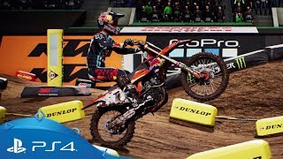 Nonton Monster Energy Supercross - The Official Videogame | Reveal Trailer | PS4 Film Subtitle Indonesia Streaming Movie Download