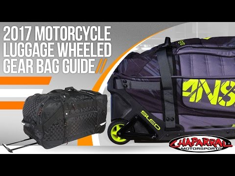 2017 Motorcycle Luggage Wheeled Gear Bag Guide at ChapMoto.com