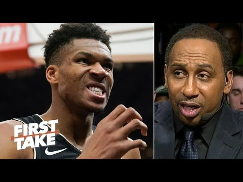 Stephen A is changing his tune on The Greek Freak  First Take