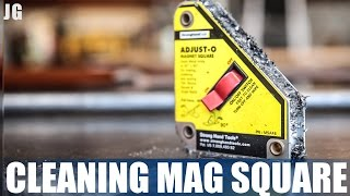 Ever wonder about cleaning your Mag Squares? Hopefully these tips help. Clean Mag Square.You can buy Mag Squares here: http://amzn.to/2rdI6gaDon't forget to Subscribe! https://goo.gl/kWECHLLAST BUILD VIDEO: https://youtu.be/gJ674Pf8SfQCheck out Jimbo's Metal Working videos here: http://bit.ly/20Dpj8t FOLLOW JIMBO!Facebook: https://www.facebook.com/TheOfficialJimbosGarage/Twitter: https://twitter.com/JimbosGarageInstagram: https://www.instagram.com/jimbosgarage/Where to buy Jimbos Tools:FEIN Tools Multitool: http://amzn.to/2fQ0zxwYost Vice: http://amzn.to/2cbbUq4DeWalt Mag Drill: http://amzn.to/2bPPNVzRikon Band Saw: http://amzn.to/2c21EvxEverlast Welder: http://amzn.to/2c8Dcf2Dewalt Table Saw: http://amzn.to/2cCLrm7Rikon Lathe: http://amzn.to/2bPPA4IBosch Miter Saw: http://amzn.to/2c3DMb3Ryobi Grinder: http://amzn.to/2c7afzoRyobi Drill Press: http://amzn.to/2c3DFfHRyobi Belt Sander: http://amzn.to/2cbaI62Husky Tool Box: http://amzn.to/2c3EntkEVERLAST Power Tig 210EXT: http://amzn.to/2pPBSl1EVERLAST Plasma Cutter 60S: http://amzn.to/2pyBZlOMAG SQUARE: http://amzn.to/2rdI6gaJimbo's Garage is a channel to find the how to's of welding, wood & other fun projects. Also see reviews on popular tool brands like FEIN, HILTI, DEWALT, MIKITA, RYOBI and more!