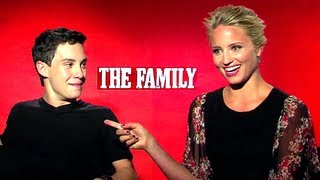 The Family - Dianna Agron&John D'Leo Interview (HD) JoBlo.com