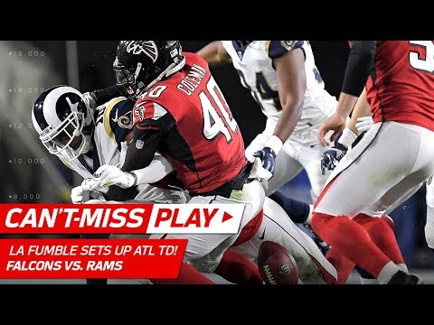 Video: LA's 2nd Special Teams Turnover Leads to Freeman's TD! | Can't-Miss Play | NFL Wild Card HLs