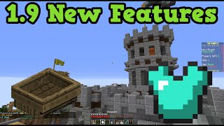 Minecraft 1.9 - SHIPS, ARMOR NERF & Player Collisions