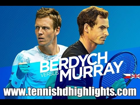 australian open 2015 - andy murray vs tomas berdych highlights