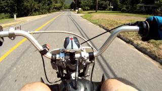 6. Cruise across town on the KLX 143cc Motard