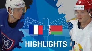 France blew a lead, came back, and won in a thrilling shootout. Cristobal Huet was fantastic, and the penalty killers were sensational. -- Thank you for watc...