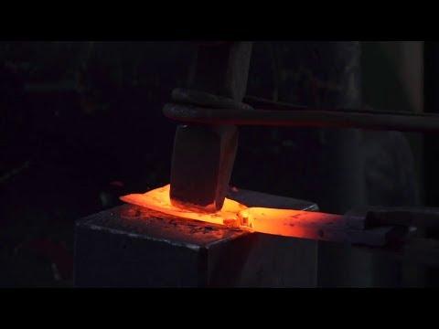 Making a socket chisel
