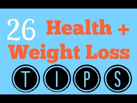 26 Health/Weight Loss Tips For Teenagers