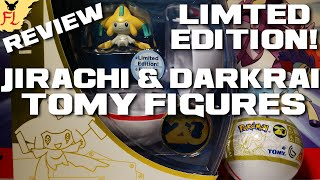 Opening and Reviewing Pokemon 20th Anniversary Limited Edition Jirachi and Darkrai Tomy Figures! by Flammable Lizard