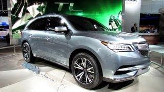 2014 Acura MDX Concept - Exterior Walkaround - 2013 Detroit Auto Show