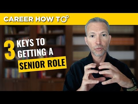 Executive Job Interview Tips: 3 Keys to Getting a Senior Role