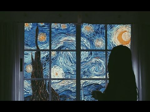 you've fallen into the starry night painting