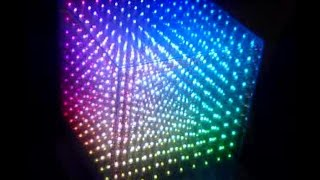 10x10x10 RGB LED cube written in assembly-code ( part 1 )