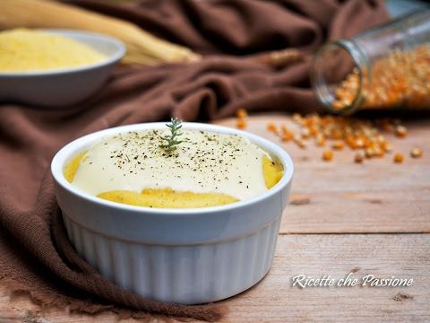 polenta al formaggio - ricetta