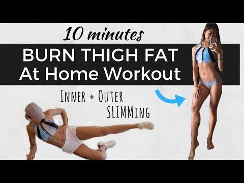 10분 운동으로 허벅지 지방 태우기