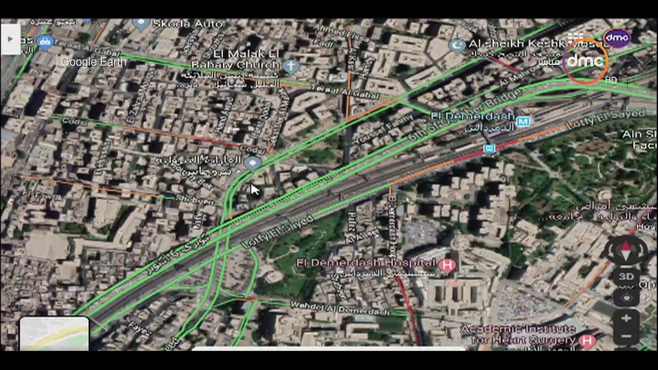 8 الصبح - رصد الحالة المرورية بشوارع العاصمة بتاريخ 12-10-2019