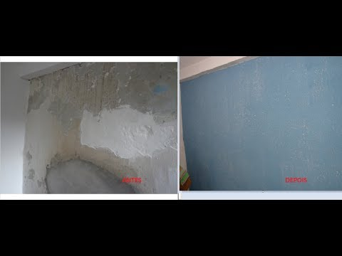 Corrigir parede irregular