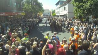 Bad Fallingbostel Germany  city images : Farewell to Fallingbostel Parade 15th May 2015